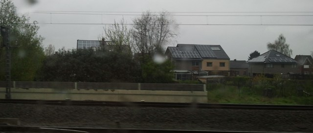 Voltaic Solar panels are becoming increasingly frequent on roofs in Belgium