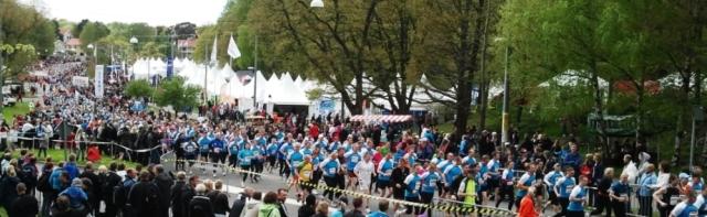 Volvo environmental blog: running for health