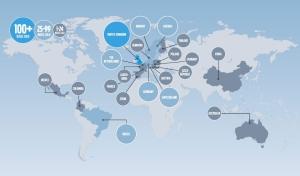 Volvo Hybrid sales map