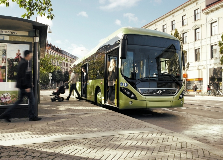 Volvo 7900 Hybrid is one of the buses in the low floor range that will be fited with hybrid drivetrain as standard.