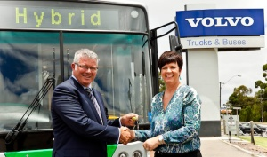 Volvo hybrid in Australia