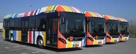 volvo 7900 hybrid in Luxemburg