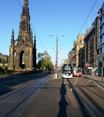 New tram in Ediburgh