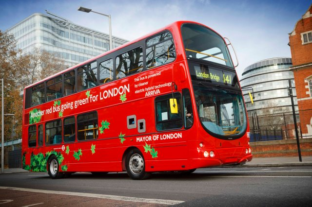 Volvo Hybrid in London
